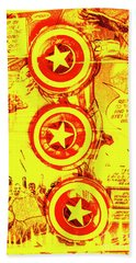 Comic Book Composite Hand Towel