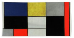 Composition, 1919-1920 Hand Towel