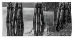 Connecticut River At Dawn Bath Towel