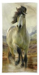 Connemara Pony Of The Moors Hand Towel