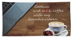 Cookies With Your Grandchildren Hand Towel