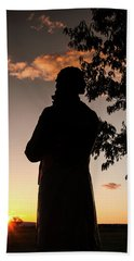 Corby At Sunset Bath Towel