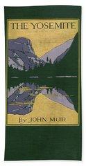 Cover Design For The Yosemite Bath Towel