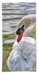 Coy Swan 2 Bath Towel