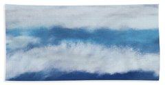 Crashing Waves 2- Art By Linda Woods Hand Towel
