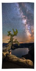 Crater Lake Twisty Tree Bath Towel