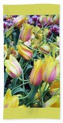 Crazy Tulips Hand Towel