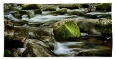 Creek Cades Cove Hand Towel