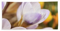 Hand Towel featuring the photograph Crocus by Whitney Goodey