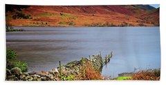 Crummock Water - English Lake District Bath Towel