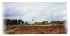 Culloden Battlefield Painting Hand Towel