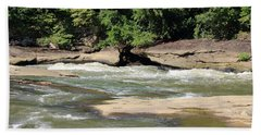 Hand Towel featuring the photograph Cumberland River by Angela Murdock