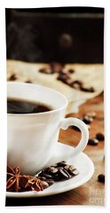 Cup Of Coffee Hand Towel