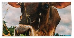 Dairy Cow Hand Towel