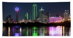 Dallas Reflection Pano 022719 Hand Towel