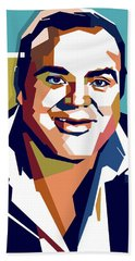 Dan Blocker Bath Towel