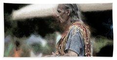 Dance Of The Woodland Elder Hand Towel