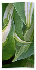 Dancing Hostas Bath Towel