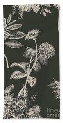 Dark Botanics  Bath Towel