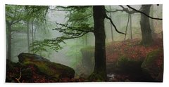 Dark Forest Hand Towel