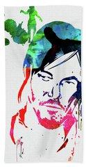 Daryl Watercolor Hand Towel