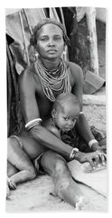 Dassanech Mother And Child Bath Towel