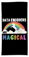 Data Encoders Are Magical Bath Towel