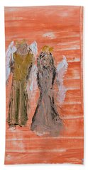 Dating Angels Hand Towel