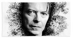 David Bowie #2 Bath Towel