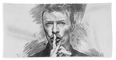 David Bowie. Bath Towel