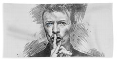 David Bowie. Hand Towel