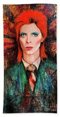 David Bowie Is Real Hand Towel
