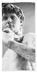 David Of Michelangelo Hand Towel