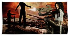Dawn Of The Dead Hand Towel