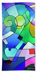 Daydream Canvas One Bath Towel