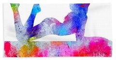 Daydream - Watercolor Nude Hand Towel