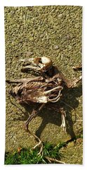 Death Shows Us We Are Nothing But Bones Bath Towel
