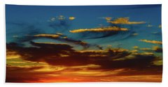 December 17 Sunset Bath Towel