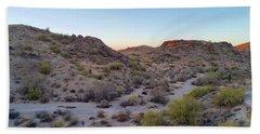 Desert Canyon Bath Towel