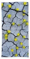Desert Flowers Hand Towel