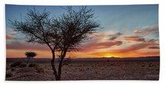Desert Sunset Hand Towel