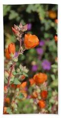 Desert Wildflowers Hand Towel