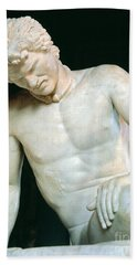 Detail Of The Dying Gaul Bath Towel