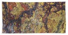 Detail Of The Surface Of The Quartz Rock Bath Towel