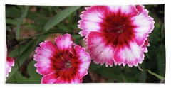 Dianthus Bath Towel