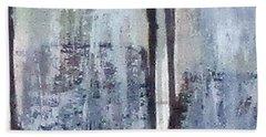 Digital Abstract N13. Bath Towel