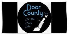 Door County Icon Bath Towel