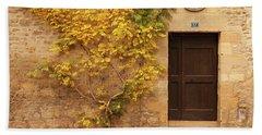 Doorway, Sarlat, France Hand Towel