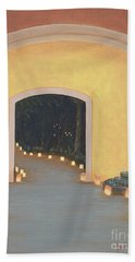 Doorway To The Festival Of Lights Hand Towel