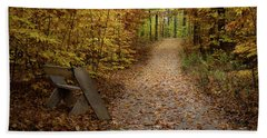 Down The Trail Hand Towel